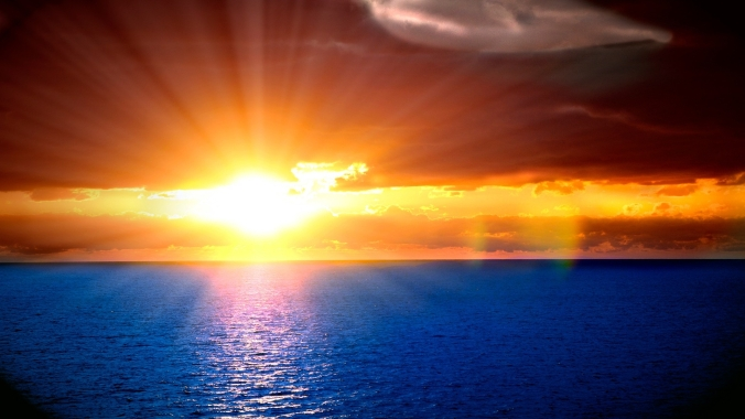 sun_beams_sky_horizon_orange_decline_light_ripples_sea_26661_1920x1080