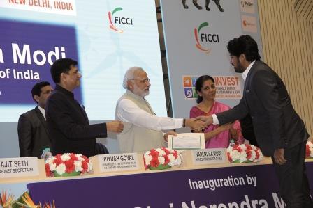 With Prime Minister Shri Narendra Modi