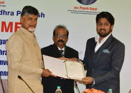 With Shri Chandrababu Naidu